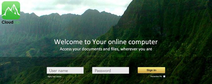 CloudTop - Cloud Web Desktop